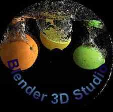 Blender 3D Studio Graphics Animation Design Software for Windows & MacOSX