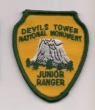Devils Tower National Monument Wyoming Souvenir Junior Ranger Patch