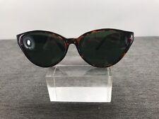 Perry Ellis Sunglasses Tortoise Frames W/ Green Lenses 504