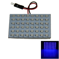1x Blue Car Panel Reading Light Dome Blub 48 1210 SMD LED T10 festoon J107
