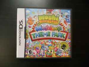 Moshi Monsters Moshlings Theme Park (Nintendo DS 2DS 3DS) GAME COMPLETE w/MANUAL