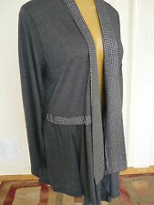 NWT Artex Fasions made in Canada knit open front cardigan sz 1X 20W