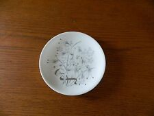 Wedgwood Grey Oats Bread and Butter Plates Bone China Platinum Accents