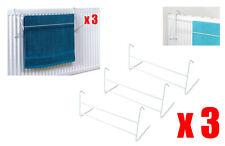 3 Piezas Y 2 Bar Radiador Toallero / Tendedero secado secador Rack