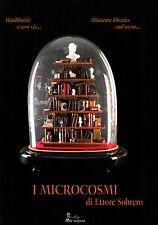 Libro I MICROCOSMI MINI LIBRERIE ETTORE SOBRERO miniature librarie modellismo