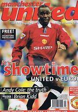 ANDY COLE / BRIAN KIDDMANCHESTER UTDOfficial MagazineMar1997