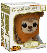 """STAR WARS - Wicket 7"""" Fabrikations Plush (Funko) #NEW"""