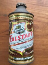 New ListingVintage Falstaff St. Louis Cone Top Beer Can With Cap