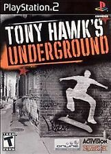 Tony Hawk's Underground (Sony PlayStation 2, 2003) Black Label Complete