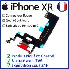 IPHONE XR DOCK ROUGE - NAPPE DOCK FLEX CONNECTEUR DE CHARGE LIGHTNING ET MICRO