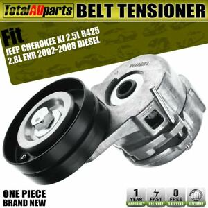 Drive Belt Tensioner for Jeep Cherokee KJ 2.5L 2.8L Diesel 2002-2008 With Pulley