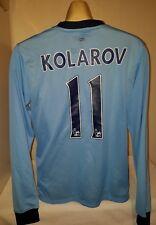 Manchester City football shirt jersey KOLAROV 2014 -2015 Large SERBIA