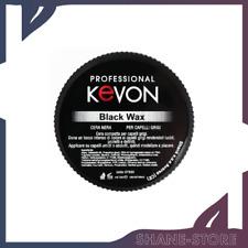 KEVON CERA BLACK NERA MODELLANTE CAPELLI GRIGI BLACK WAX 100 ML
