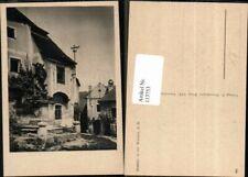 113753,Detailpartie aus Rossatz i.d. Wachau