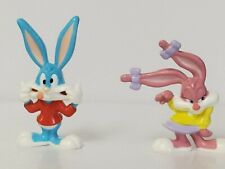 Vintage BUGS BUNNY PVC figures Looney Tunes Lot of 2 Applause Warner Bros /'88-90
