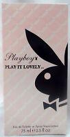 PLAYBOY PLAY BOY PLAY IT LOVELY.. 2.5 OZ / 75 ML EAU DE TOILETTE SPRAY NIB WOMAN