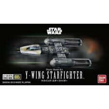 Y-wing Starfighter Modèle Kit de BANDAI, Star Wars Vehicle #005