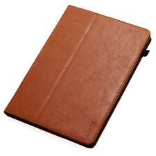Premium Leder Cover für Apple iPad Mini 4 Schutz Hülle Case Tasche Tablet braun