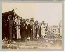 Palestine, Jéricho (أريحا) Vintage albumen print. Vintage Palestina  Tirage al