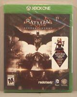 Batman: Arkham Knight (Microsoft Xbox One 2015) NEW with Harley Quinn Story Pack