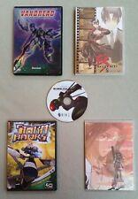 Anime DVD Mix: VANDREAD, Storm Hawks, BubbleGum Crisis, My Bride a Mermaid, E's
