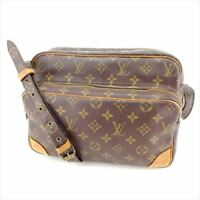 Louis Vuitton Shoulder bag Monogram Brown Woman Authentic Used S021