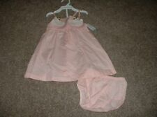 Carter's Baby Girls Pink Swan Dress Set Summer Size 24M 24 Months 18-24 mos NWT