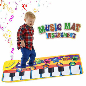 Baby Kids Piano Mat Musical Music Keyboard Stand Development Educational Gym Toy