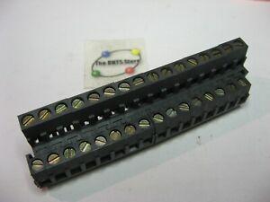 WECO 140-A -B Terminal Block 16x2 Pins Modular PCB Mount - NOS Qty 1