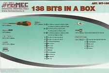 FERMEC BIT 138 Set inserti croce, taglio con impugnatura ergonomica idea regalo
