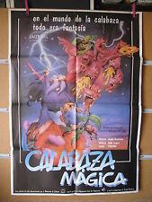 A2101    LA CALABAZA MAGICA ANIMACION CINE ESPAÑOL BERASATEGI
