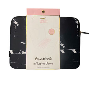 """Winx Reese Marble 16 Inch Laptop Sleeve Fits Up To 15.6"""" Computer"""