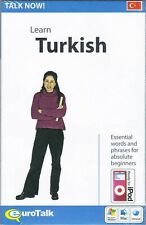 Talk Now! Learn Turkish, Cd-Rom Language Learning Series