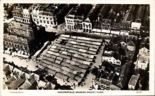Chesterfield Showing Market Place # 21076 by Aerofilms. Aerial View.