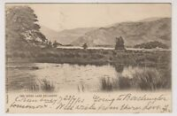 Ireland postcard - The Upper Lake, Killarney, Co. Kerry - P/U 1902 (A57)
