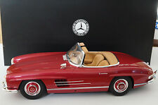 1/12 Mercedes-Benz 300sl w198 Roadster Erdbeerrot GT Spirit Dealer Edition