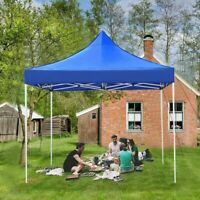 E-Z UP 10' x 10' Replacement Canopy Top Sunshade Tent Cover Outdoor Party Holder