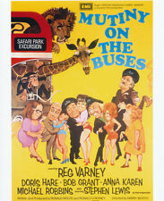 Mutiny on the Buses UNSIGNED poster photo - G116