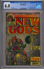 NEW GODS #1 CGC 6.0 1ST APP ORION, LIGHTRAY, METRON, HIGH-FATHER AND KALIBAK