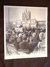 Elezioni a Roma nel 1900 Discorso del Primo Ministro Generale Pelleoux