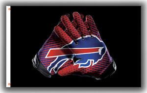 Buffalo Bills Football Team Memorable Gloves Flag 90x150cm 3x5ft Best banner