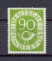 Bund 138 Posthorn 90 Pfg. postfrisch Kurzbefund HD Schlegel (lr84)