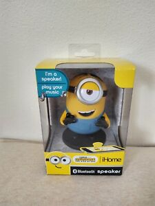 iHOME DESPICABLE ME MINION BLUETOOTH SPEAKER NEW FREE SHIPPING