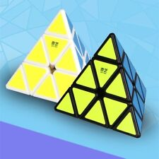 New Megaminx Magic Rubic Rubix Speed Cubes Pyramid 4Sides Gigaminx PVC Sticker