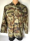 Irish Defence Force Issue Camouflage Shirt Scare Paddy Flage 38 inch Chest (09)