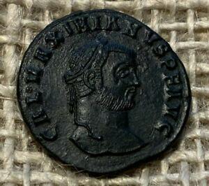 Galerius BI Nummus. Thessalonica, circa AD 308-310. GVF  L33