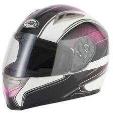 Caschi rosa con visiera antigraffio per la guida di veicoli taglia M