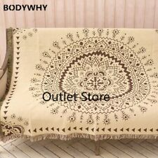 Cotton Geometric Throw Blanket Europe Tapestry Bedding Sheet Sofa Cover Carpet