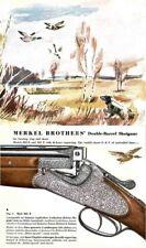 Merkel 1958 Guns Company Catalog