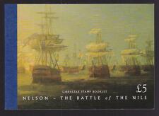 Gibraltar 1998 Prestige Booklet Commemoratives Nelson Battle of the Nile £5